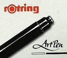 Rotring ArtPen Cartridges Black 1