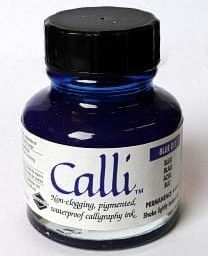 Daler Rowney Calli Calligraphy Ink Blue