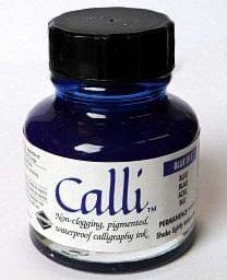 Daler Rowney Calli Calligraphy Ink Blue