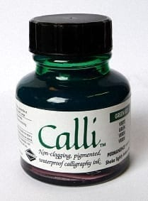 Daler Rowney Calli Calligraphy Ink 29.5ml Green