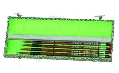 Set of Four Chinese brushes 1