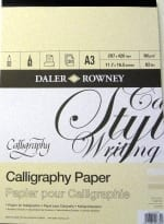 A3 Calligraphy Pad 1
