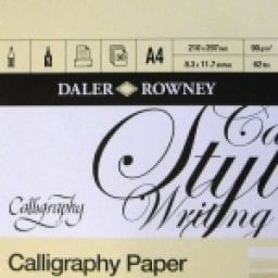 A4 Calligraphy Pad 1