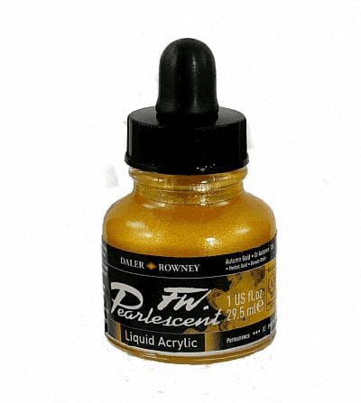 Pearlescent Acrylic 29.5ml Autumn Gold 1