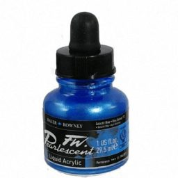Pearlescent Acrylic 29.5ml Galactic Blue 1