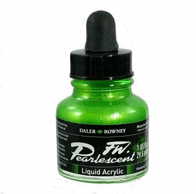 Pearlescent Acrylic 29.5ml Macaw Green 1
