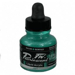Pearlescent Acrylic 29.5ml Waterfall Green 1