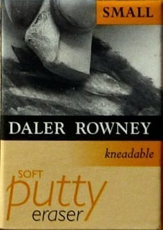Daler Rowney Kneadable Putty Eraser