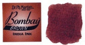 Bombay India Ink Brown 30ml