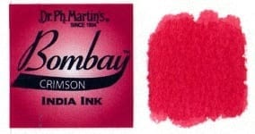 Bombay India Ink Crimson 30ml