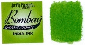 Bombay India Ink Grass Green 30ml