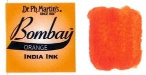 Bombay India Ink Orange 30ml