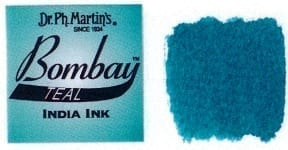 Bombay India Ink Teal 30ml