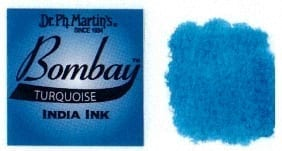 Bombay India Ink Turquoise 30ml