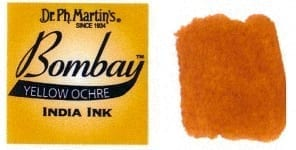 Bombay India Ink Yellow Ochre 30ml