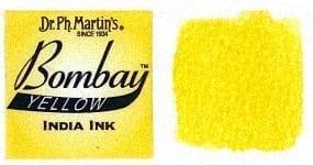 Bombay India Ink Yellow 30ml 1