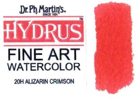 Dr Ph Martin's Hydrus Alizarin Crimson 15ml 1