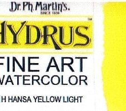 Dr Ph Martin's Hydrus Hansa Yellow Light 15ml 1