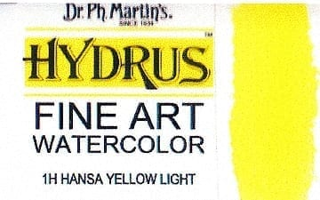 Dr Ph Martin's Hydrus Hansa Yellow Light 15ml 1