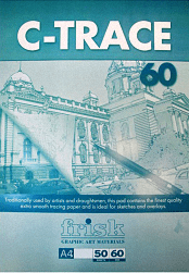 Frisk C-Trace A4 60gsm Tracing Paper Pad 50 sht 1