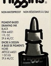 Higgins Non-Waterproof Drawing Ink