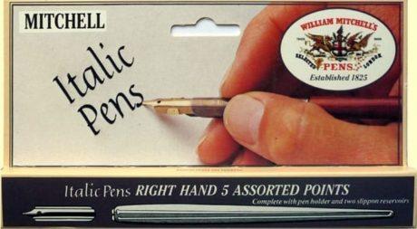Set of William Mitchell Italic Pens 2