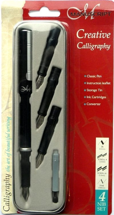 Manuscript Creative 4 Nib Set 2