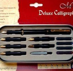 Manuscript Deluxe 6 Nib Set (Left Hand) 1