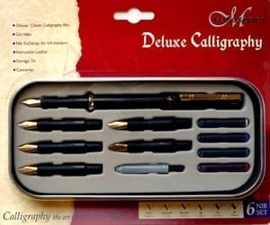 Manuscript Deluxe 6 Nib Set