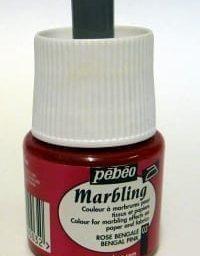 Pebeo Marbling Ink Bengal Pink 45ml 1
