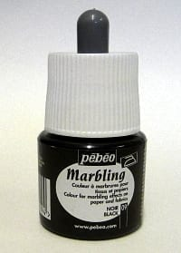Pebeo Marbling Ink Black 45ml 1