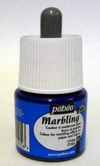 Pebeo Marbling Ink Cyan 45ml 1