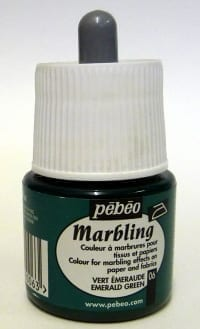Pebeo Marbling Ink Emerald Green 45ml 1