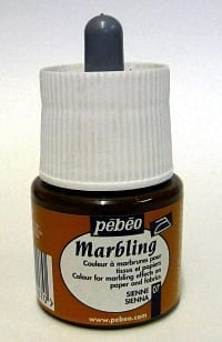 Pebeo Marbling Ink Sienna 45ml 1