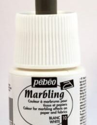 Pebeo Marbling Ink White 45ml