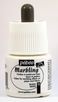 Pebeo Marbling Ink White 45ml 1