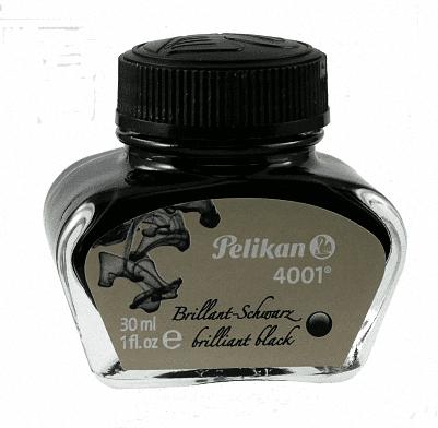 Pelikan 4001 Brilliant Black Ink 1