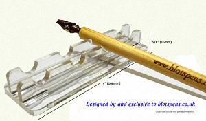 Blots Acrylic Pen/Brush Rest 1