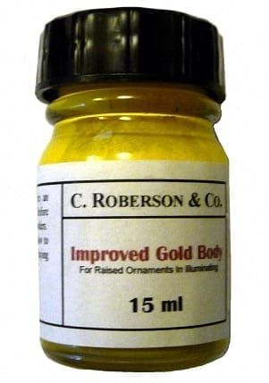 Roberson's Improved Gold Body 15ml