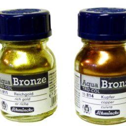 Schmincke Aqua Bronze Powders (formerly Tro Col)