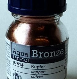 Schmincke Aqua Bronze Powder Copper