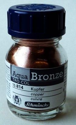 Schmincke Aqua Bronze Powder Copper 1