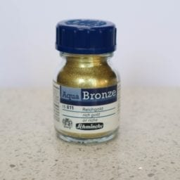 Schmincke Aqua Bronze Powder Rich Gold