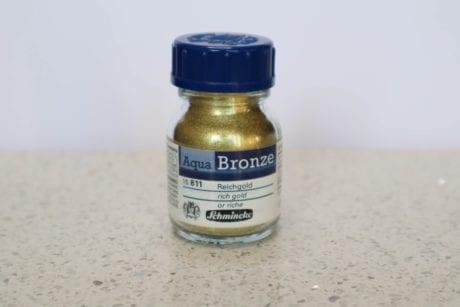 Schmincke Aqua Bronze Powder Rich Gold