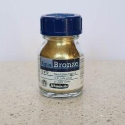 Schmincke Aqua Bronze Powder Rich Pale Gold