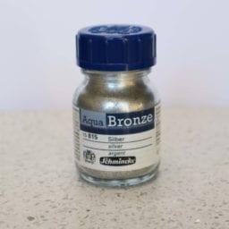 Schmincke Aqua Bronze Powder Silver