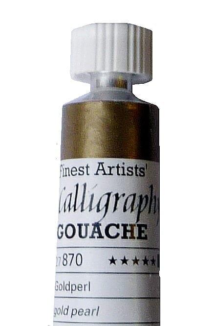Schmincke Calligraphy Gouache Gold Pearl