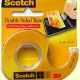 Scotch Double Sided Tape 12mm x 6.3m 1