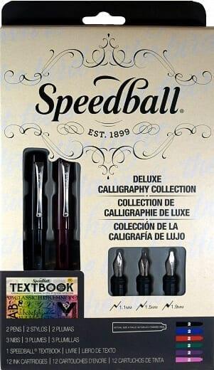 Speedball Calligraphy Set Deluxe Fountain Pen Set