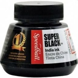 Speedball Super Black India Ink